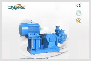 China Single Stage ASH Slurry Pump 150ZGB Tailings Horizontal Slurry Pumps on sale