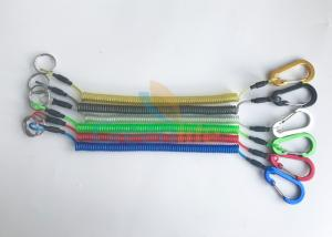 China New Stylish Colorful Expandable Coiled Muti-purpose Fishing Tools Lanyard Tethers on sale