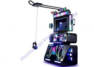 China Htc 9D Musical Instruments Video Games Dance Arcade Machine For Vr Amusement Park on sale
