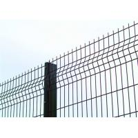 China Galvanized Iron Welded Wire Mesh Garden Fence Green Vinyl Coated 1800mm Width on sale