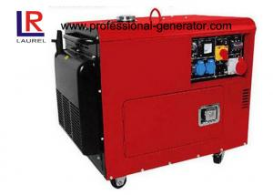 China Double Cylinder Low Fuel Consumption Super Diesel Generator Air-cooled for Home Use on sale