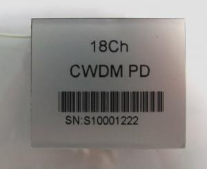 China Silver 20 Pin Fiber Optic CWDM PD Module 18 channel for CWDM Power Meter on sale