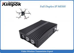 China 1-3W IP Mesh TDD Transceiver COFDM Bidirectional Portable Radio Downlink Uplink Up to 16 Nodes on sale