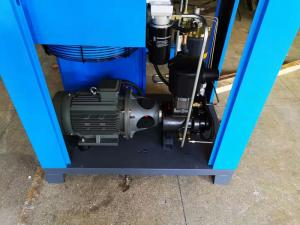 China OEM Single Phase Rotary Screw Compressor , Blue Diesel Screw Compressor? on sale