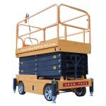 Mobile scissor tables hydraulic electric 500kg 9m indoor scissor lift platform