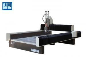 China 5.5Kw Liquid Cooled Stone Engraving CNC Router Equipment For Bluestone , Marble on sale