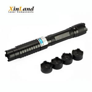 China Hot selling 445nm powerful blue laser pointer caps lighting on sale