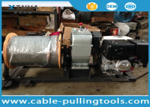 China Honda Gas Engine Powered Winch Cable Pulling Tools With 300M Wire Rope on sale