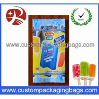 Ice Cream Plastic Food Packaging Bags Ecofriendly Biodegradable