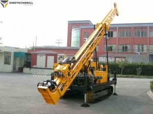 China Hydraulic Cralwer Surface Exploration BQ 400 m / NQ 300 m / HQ 160 m Core Drilling Rig on sale