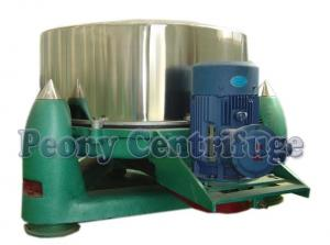 Quality Plate Manual Intermittent Operation Top Discharge Centrifuge With Clamshell, Full Cover for sale