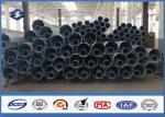 8M の容易な 11M 鋼鉄街灯柱 AWS D1.1 の溶接の厚さ 4mm 鋼管は取付けます