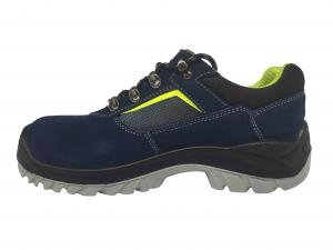 China Corrosion Resistant Steel Toe Work Shoes Electrical Isolation Royal Blue Color on sale
