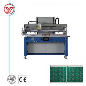 China Semi Automatic Flatbed Screen Printing Machine / PCB Screen Printing Machine on sale