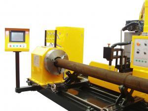 China Offshore plateform construction CNC pipe  profile plasma cutting machine 800mm on sale