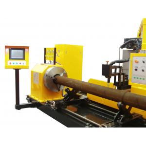China Offshore plateform construction CNC pipe  profile plasma cutting machine 800mm on sale