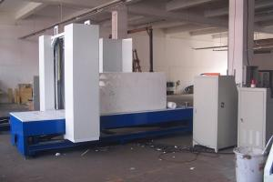China High Efficiency EPS Cutting Machine Hot Wire , 2D Panel Production Line on sale