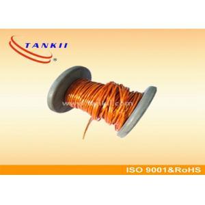 China Le téflon a isolé type de câble bleu/rouge de thermocouple JX KX EX avec le conducteur nu extrafin de fil on sale
