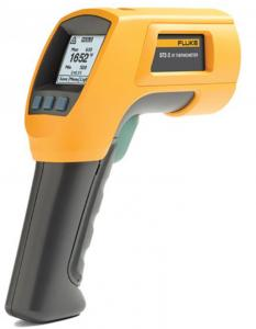 China High Temperature Fluke 574 Infrared Thermometer / Original Fluke Digital Thermometer on sale