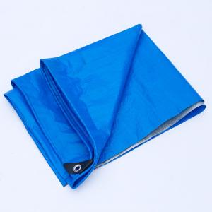 China Easy Folded PE Tarpaulin Sheet color Customized For Truck Cover / Boat Cover on sale