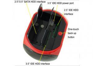 China SATA及びIDEの港、1人のカード読取り装置のすべてとの1つのHDDのドッキングのすべて on sale