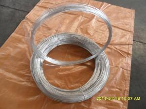 China 24# hot galvanized steel wire on sale