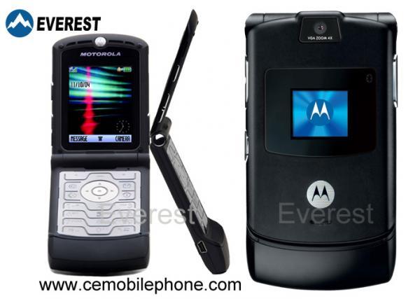 branded mobile phones for motorola mobile phone moto cell phone flip rh cemobilephone sell everychina com Motorola RAZR V3i Applications Motorola RAZR V3i Battery
