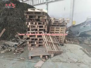 China CE Approved Solid Waste Shredder Agriculture Waste Recycling Machine 3 Phase on sale