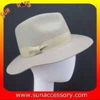 2254 Sun Accessory customized  winter wool felt  fedora hats men  ,Shopping online hats and caps wholesaling