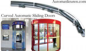 China [MW] puertas deslizantes automáticas curvadas on sale