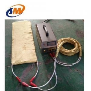 China 30KW Portable induction weld preheating machine for pipe, tube steel plate quickly heating weld preheater 300 C on sale