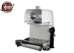 China Domestic Automatic Espresso Machine , Stainless Steel Milk Frother Home Espresso Maker on sale