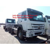 SINOTRUK HOWO 6x4 tractor truck 371 HP trailer head, HOWO loading 40t prime mover truck, Euro 2