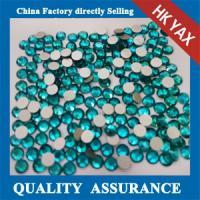 China non hot fix fatback rhinestone, Flatback no hotfix silver,ab crystal rhinestone foiled on sale