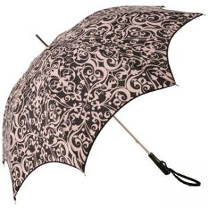 China Pastel Rainbow - double skin umbrella with 14 ribs on sale
