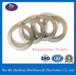 Stainless Steel Carbon Steel DIN9250 Double Side Knurl Lock Washer Flat Washer Spring Washer