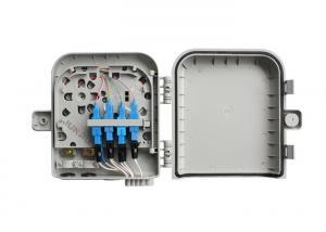 China 8 Port Wall Mounted Fiber Optic Distribution Box , Optical Termination Box on sale