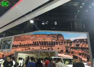China High Definition Car Exhibition Stage LED Screens P4.81mm Super Clear Vision on sale