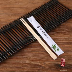 China Premium Bamboo Japanese Disposable Chopsticks 60g Paper Half Wrapped on sale