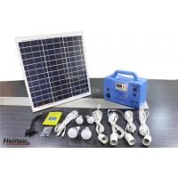 China Heineer DC System-Solar Home System SG1230W portable solar power system on sale
