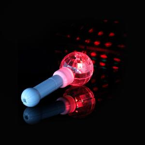 China Multi-Color LED Disco Ball Stick For Concert, Party And Event, Christmas, Halloween Decoration Or Birthday Celebration on sale