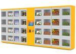 安全設備の自動販売機、電子ロッカー システム自動販売機の解決