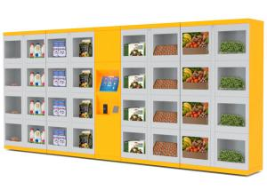 China Safety Equipment Vending Machine , Electronic Locker Systems Vending Machine Solutions on sale