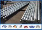8M 9M 10M Galvanized Steel Pole wit Hot Dip Galvanization Min 86 microns