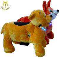 Hansel coin operated animal toy ride and happy ride toy animal hot in shopping mall with animal scooters