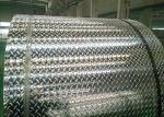 Mirror Finish Aluminium Checker Sheet , 5mm 6mm 7mm Aluminium Flooring Sheet