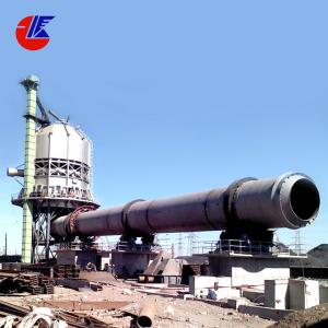 China Horizontal 5000 Tpd Cement Iron Ore Rotary Kiln on sale