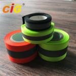 Sew / TC Retro Reflective Tape Reflective Safety Vests For Hi - Viz Garments