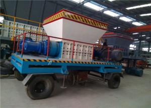China Industrial Plastic Waste Shredding Machine 2 Tons Capacity OEM Color on sale