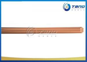China Single Core Bare Copper Conductor Simple Structure Large Transmission Capacity on sale